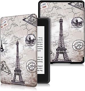 新しいAmazon Kindle Paperwhite カバー ペインティング 軽量 薄型 オートスリープ機能付き 保護ケースKindle Paperwhite 2018年に公開した第10世代専用(2018以前のPaperwhite Generationには適合しません) エッフェル塔