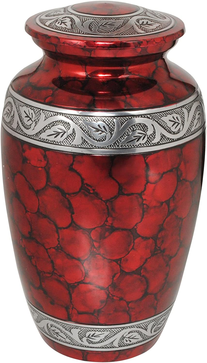 5 ☆ All items in the store popular UrnsDirect2U Middleton Royal Red Adult Urn