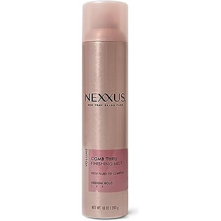 Nexxus Comb Thru Finishing Spray Hair Spray, Hair Spray for Volume, Hair Mist, Hair Shine Spray 10 oz