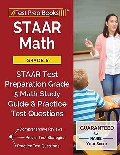 STAAR Math Grade 5: STAAR Test Preparation Grade 5 Math Study Guide & Practice Test Questions