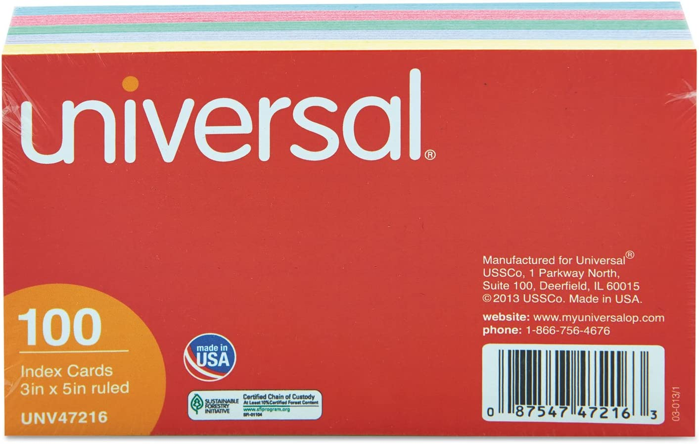 5 ☆ NEW popular UNV47216 - Universal Cards Index