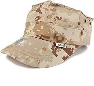Trendy Apparel Shop Kid's Youth Size Military 8 Point Cover Trooper Patrol Cap