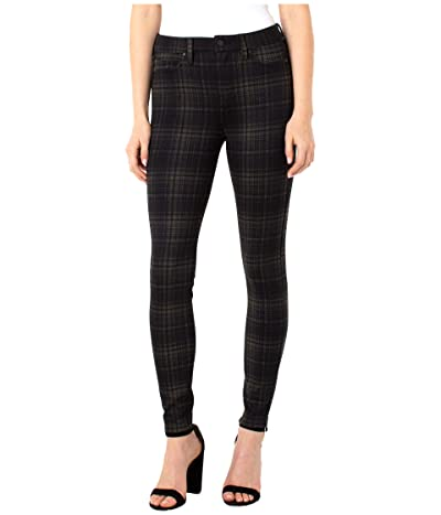Liverpool Madonna Skinny Leggings (Tan/Black Glen Plaid) Women