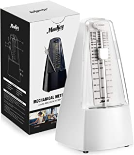 Moukey MPM-1 Mechanical Metronome White For Piano,Violin and Guitar