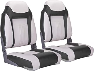 North Captain S1 Deluxe High Back Folding Boat Seat(2 Seats)