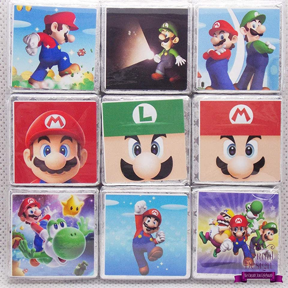 Eternal Design Super Mario Milk Chocolates 9 Pack