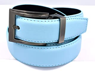 Men's Solid Leather Belts -12 Colors Available