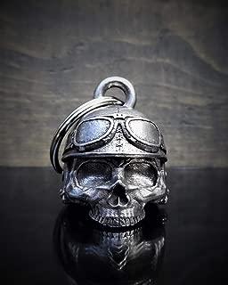 3-D BELLS Motorcycle Helmet Skull 3-D Ride Bell