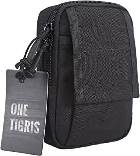 "OneTigris Tactical Molle EDC Pouch Utility Gadget Belt Waist Bag for 5.5"" iPhone 6 Plus iPhone 7 Plus Smartphone"