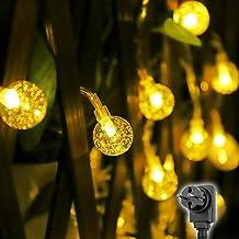Salcar Cadena de luces de bola LED de 10M con 50 LED,