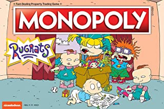 USAOPOLY Monopoly Rugrats Board Game | Based on The Nickelodean Series Rugrats | Officially Licensed Rugrats Merchandise | Themed Classic Monopoly Game