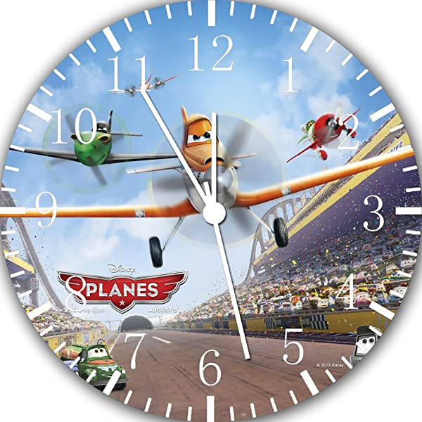 Planes Dusty Crophopper Frameless Borderless Wall Clock B228 Nice For Gift Or Room Wall Decor