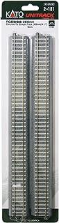 HO gauge 2-181 HO unitrack PC rak linje 369 mm (4 delar) (japansk import)