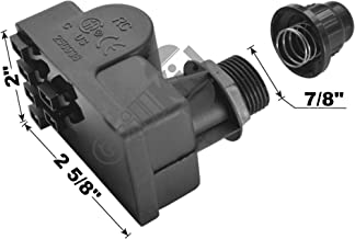 Grillkid SG06 Spark Generator Replacement for Select Gas Grill Models by Brinkmann, Charbroil, Nexgrill and Others, 6 Male Spade Connector Outlets