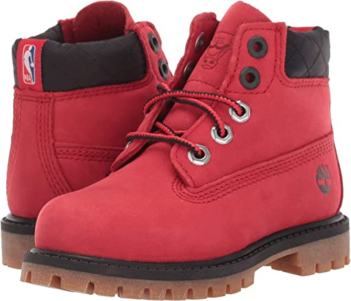 Medium Red Nubuck
