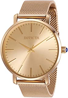 Invicta Women's Angel Quartz Watch with Stainless Steel Strap, Rose Gold, 18 (Model: 31072)