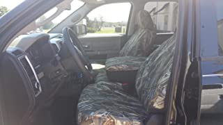 Durafit Seat Covers,,Waterproof Seat Covers Made to fit DRT Camo Endura for 2011-2012 Dodge Ram 1500-3500 Front and Rear Seat Cover Set. Front 40/20/40 with Opening Console. Rear Solid Bench Seat.