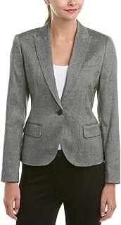 Anne Klein Women's Howard Hawks Peak Lapel Jacket