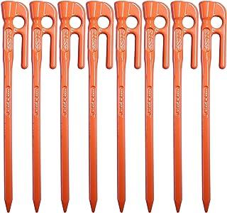 エリッゼ(ELLISSE) 鍛造ペグ エリッゼステーク 18cm オレンジ粉体塗装 MK-180OR MADE IN JAPAN