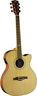 EKO Guitars 06217086 TRI Series Auditorium Cutaway Acoustic-Electric Guitar
