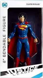 NJ Croce Superman Bendable Figure, Multicolor, 8