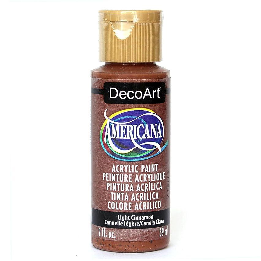 DecoArt Americana Acrylic Paint, 2-Ounce, Light Cinnamon