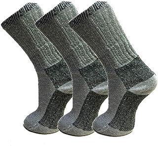 Fresh Feel New Socks - Calcetines de lana merina para hombre (3 pares)
