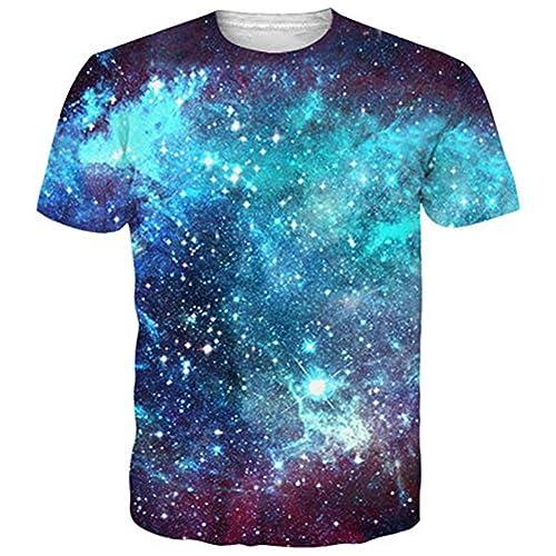 b1c21b617 Funnycokid Mens T Shirts Print Unisex Short Sleeve Summer Tee Shirt