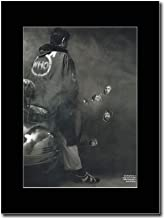 gasolinerainbows - The Who - Classic Album Quadrophenia - Matted Mounted Magazine Promotional Artwork on a Black Mount