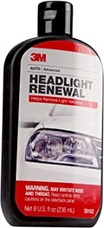 3M Headlight Renewal, Helps Remove Light Yellowing, 8 oz, 1 bottle