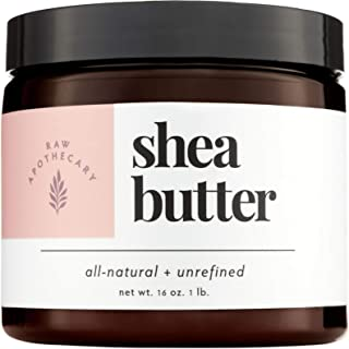 raw apothecary shea butter