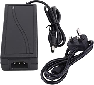 【𝐒𝐩𝐫𝐢𝐧𝐠 𝐒𝐚𝐥𝐞 𝐆𝐢𝐟𝐭】 DC 12V 5A Power Adapter Plastic 12V 5A Adapter RC Charger Adapter, Black RC Charger Power...