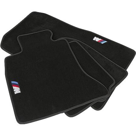 Mapexer Velours Fußmatten Teppiche Für Bmw X5 F15 Linkslenker Hochwertig Edel Genähtes M Logo Perfekte Passform Pflegeleicht Gut Zu Saugen Robust Langlebig 4er Set Auto
