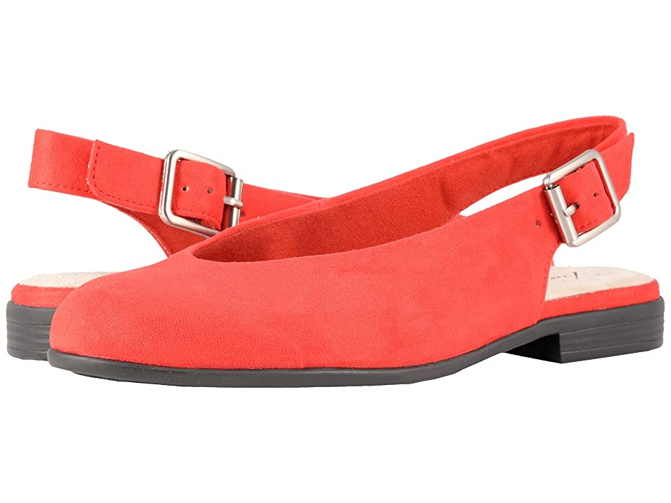 Trotters Alice (Red Microsuede) Women