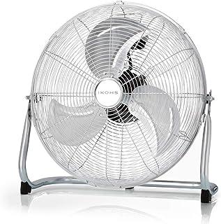 comprar comparacion IKOHS EOLUS TURBO - Ventilador de suelo Industrial, 110 W, Potente flujo de aire, Ligero, Ajustable, Con Patas Antidesliza...