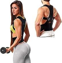 QERINKLE® Unisex Magnetic Back Brace Posture Corrector Therapy Shoulder Belt for Lower and Upper Back Pain Relief, back support belt for back pain,