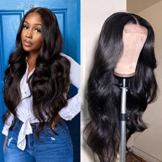 Cirvty Lace Front Wigs Human Hair Wigs for Black Women Brazilian 4x4 Body Wave Lace Closure Wigs Pre-plucked Hairline with...