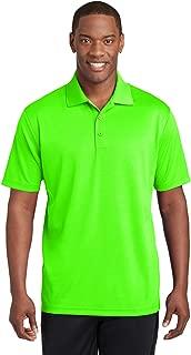 neon green polo neck