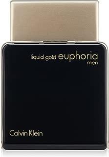 Calvin Klein Perfume  - Liquid Gold Euphoria by Calvin Klein - perfume for men - Eau de Parfum, 100 ml