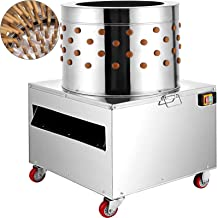BestEquip Chicken Plucker Machine 2200W Large Pro Poultry Plucker 23.5Inch Barrel Diameter Feather Removal Quail Plucker for Quail and Chicken