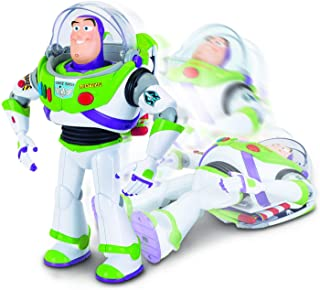 Toy Story 4 64432 Disney Pixar Buzz Lightyear with Interactive Drop-Down Action