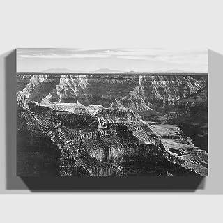"Arty Pie""Ansel Adams Grand Canyon 4"" Print Canvas, Multi-Colour, 20 x 14-Inch"