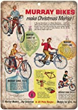 Sylty Murray Bicycle Fleet Comet Sonic Flite Nostalgic Advertising Wall Sign 8X12 Inch