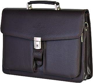 RENATO LANDINI Brown Leather Bag/Master/R1122LC