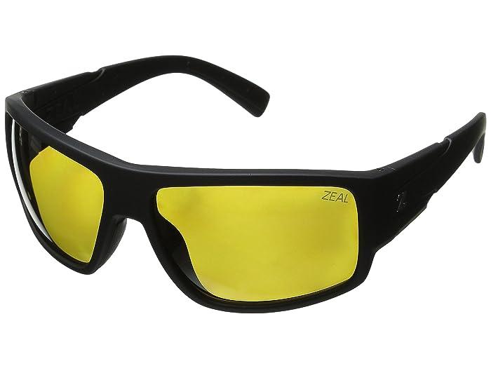 Zeal Optics  Big Timber (Matte Black/Polarized Auto Lens) Sport Sunglasses