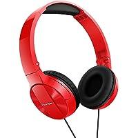 Deals on Pioneer SE-MJ503-R Headphones