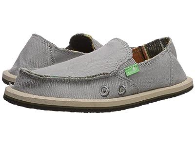 Sanuk Kids Vagabond (Little Kid/Big Kid) (Grey Blanket) Boys Shoes