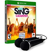 Lets Sing Country Xbox One 2-Mics Bundle Edition