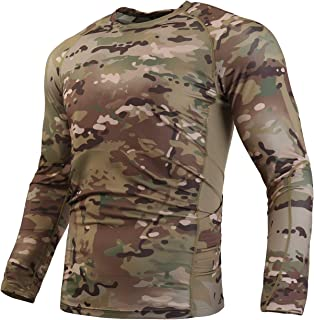 WARCHIEF Tactical Long and Short Sleeve Shirt Camouflage Military T-Shirt Sportswear