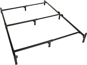 Amazon Basics 9-Leg Support Bed Frame - Strong Support for Box Spring and Mattress Set - King